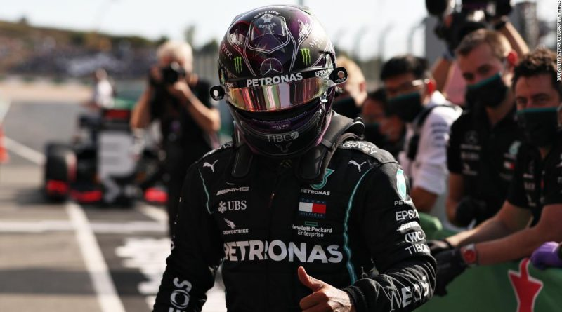Lewis Hamilton breaks Michael Schumacher's all-time F1 win record