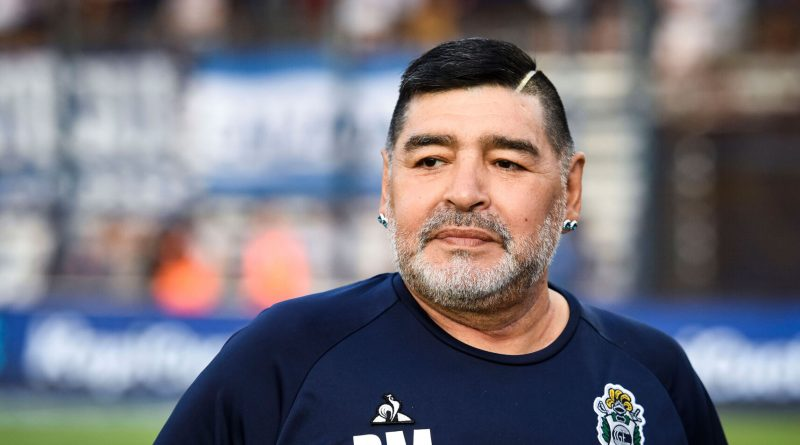 Authorities raid the home and office of Maradona's psychiatrist