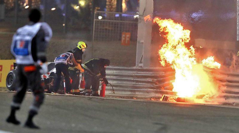 'I saw death coming,' says Grosjean after fireball crash