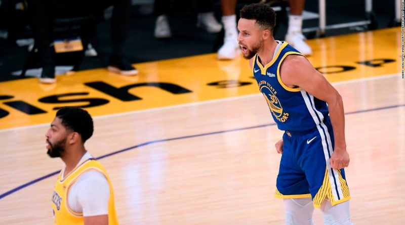 Steph Curry ends Lakers' winning streak with impressive performance